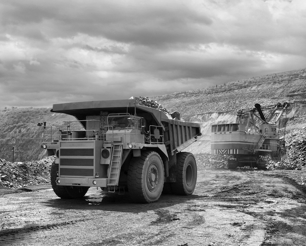 If the federal government has it's way, Canadians won't be getting a dump truck load of information about what mining companies are up to abroad. (Photograph by Shutterstock.com)