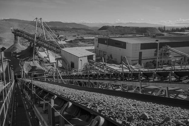 The Mount Polley Mine is just one example of an operation British Columbians are being kept in the dark about. (Photograph by Imperial Metals Corp.)